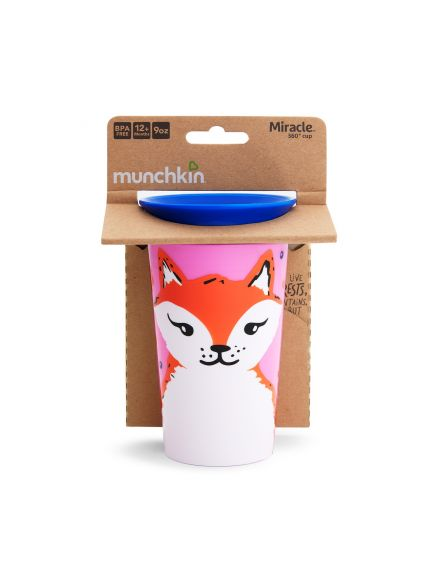 MIRACLE SIPPY CUP 266ML - FOX