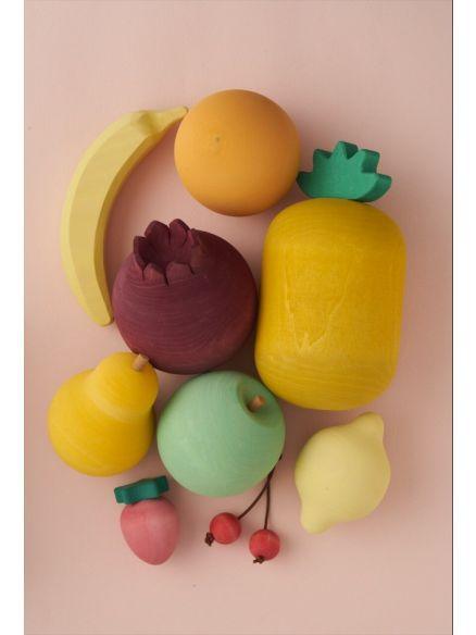 Ξύλινο Σετ Φρούτων