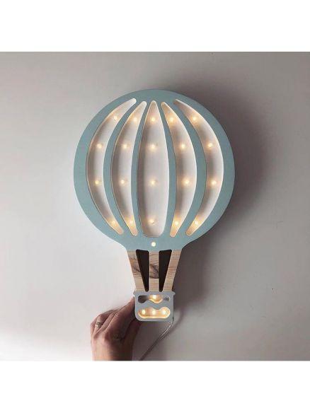 Φωτιστικό Ξύλινο Flying Balloon