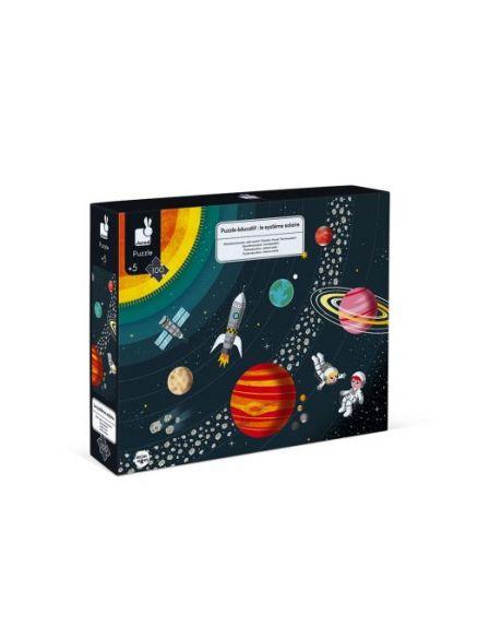 Εκπαιδευτικό Puzzle (100 ΤΕΜ) - Ηλιακό Σύστημα