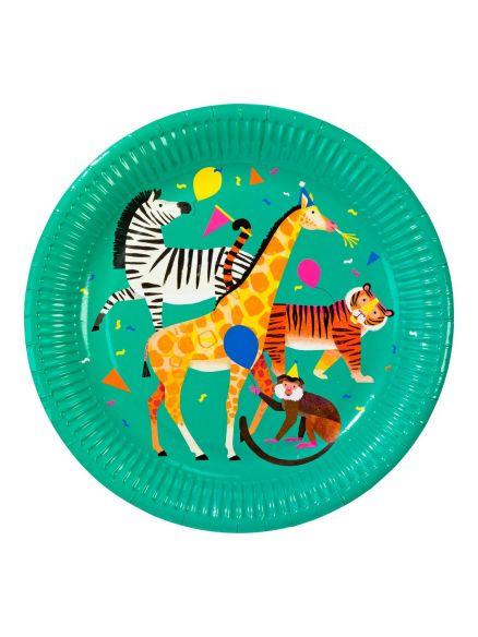 """Χάρτινα Πιάτα """"Party Animals"""""""