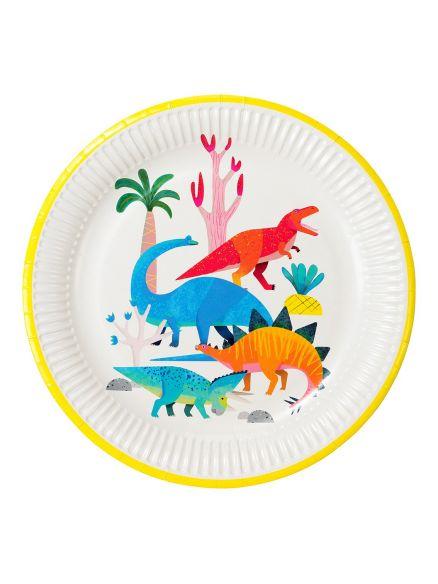 """Χάρτινα Πιάτα """"Dino"""""""