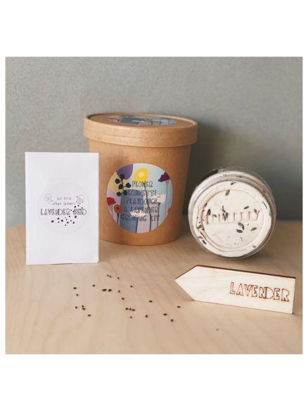"Growing Kit ""Playdough Lavender + Σπόροι"""