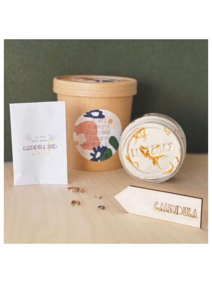 "Growing Kit ""Playdough Calendula + Σπόροι"""