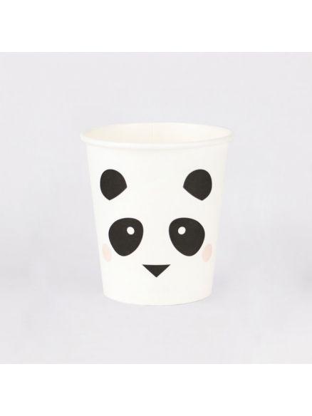 """Χάρτινα Ποτήρια """"Panda"""""""
