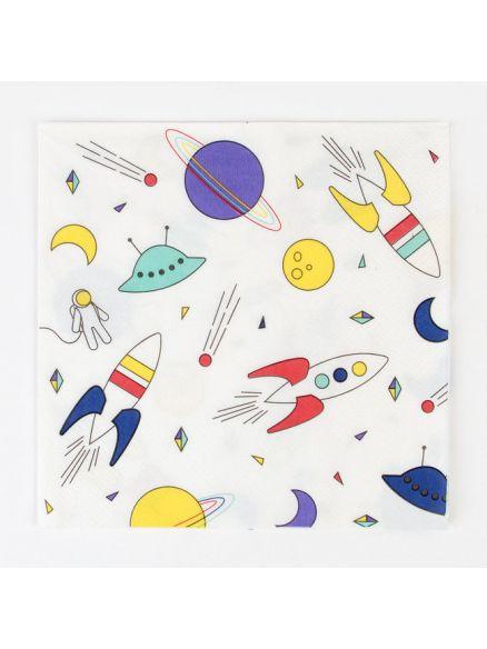 """Χαρτοπετσέτες """"Space"""""""