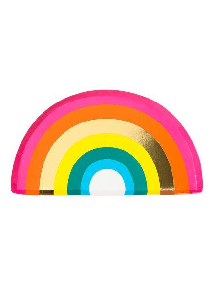 """Χάρτινα Πιάτα """"Rainbow"""""""