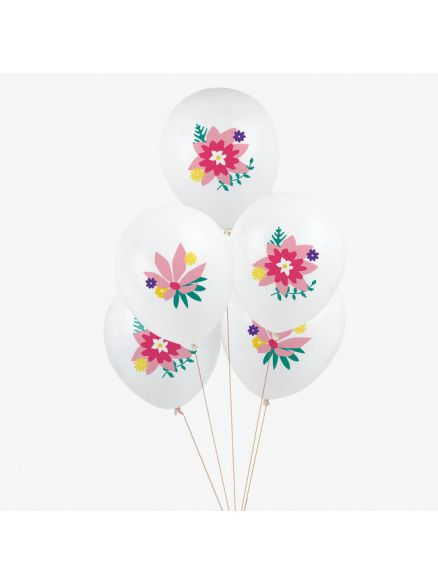 """Μπαλόνια """"Flowers"""""""