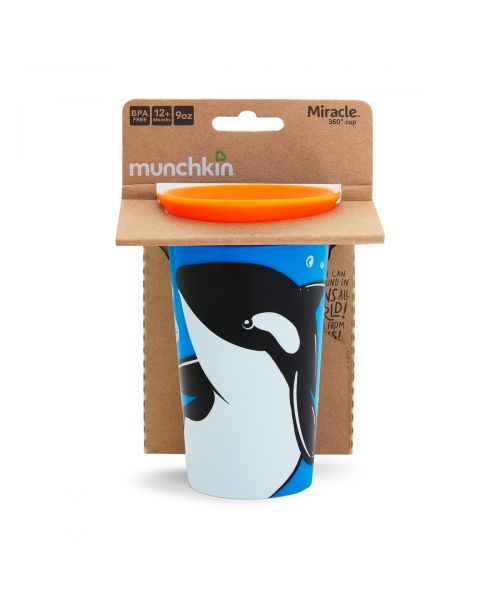 MIRACLE SIPPY CUP 266ML - ORCA