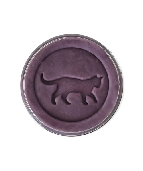 """Bluberry Natural Playdough """"Chat Violet"""""""
