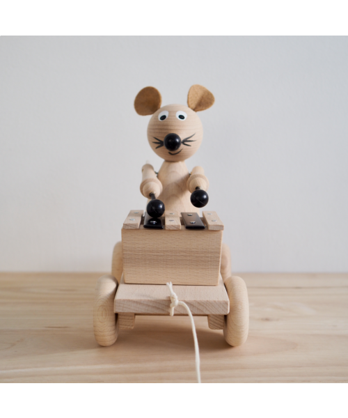 Edgar Pull Along Xylophone Mouse