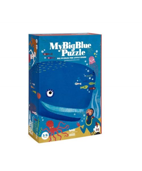 "Puzzle ""My Big Blue"""